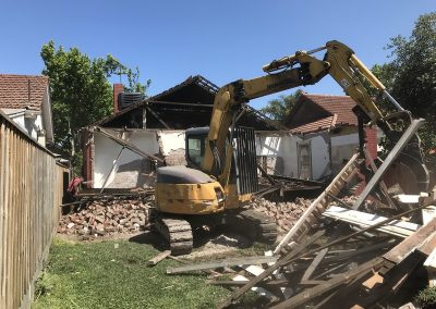 Demoltion underway...